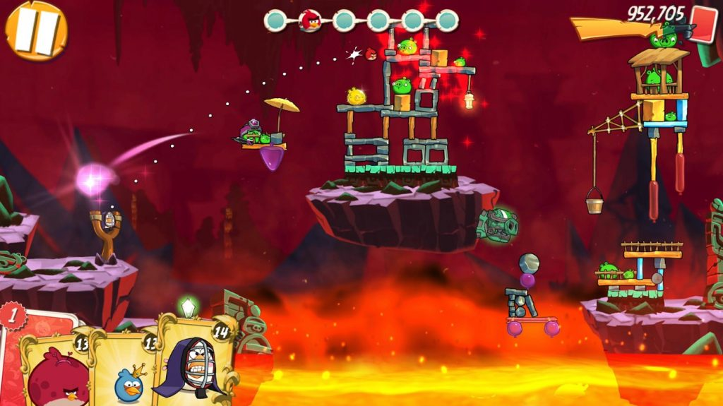 Angry Birds 2, скриншот
